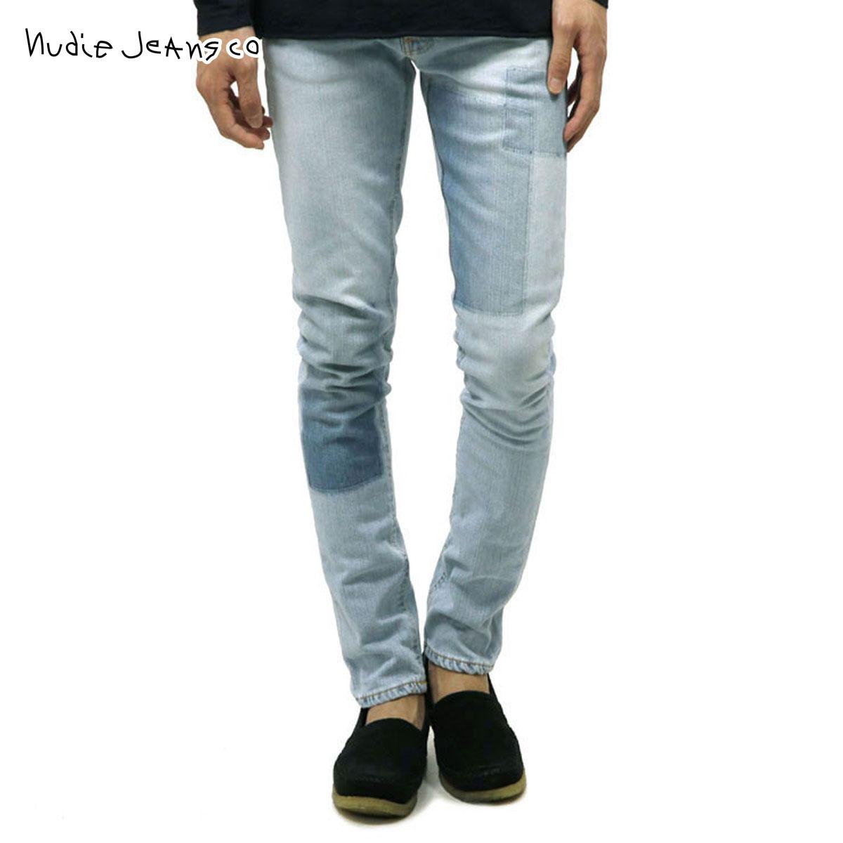 ヌーディージーンズ Nudie Jeans 正規販売店 メンズ ジーンズ LEAN DEAN INDIGO STRIP 766 1124730