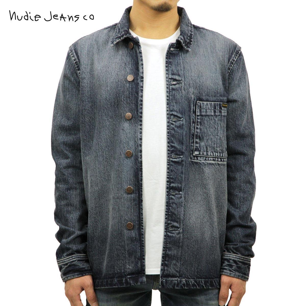 ヌーディージーンズ Nudie Jeans 正規販売店 メンズ 長袖デニムシャツ STEN DENIM SHIRT DENIM B26 140551 3030