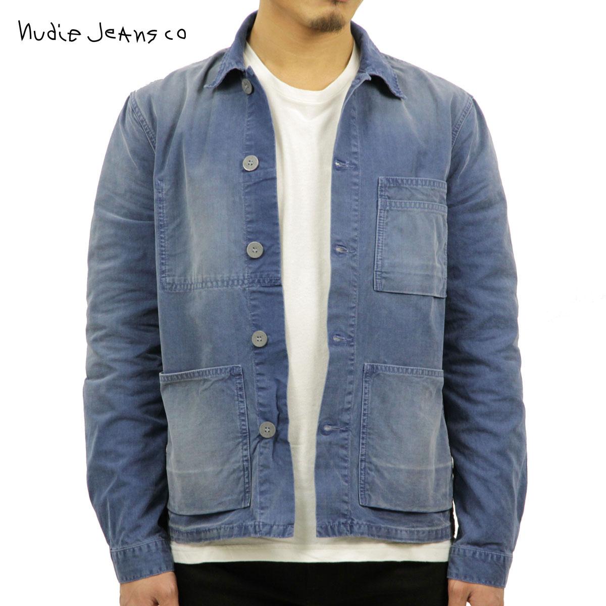 ヌーディージーンズ Nudie Jeans 正規販売店 メンズ アウター デニムジャケット PAUL WORKER DENIM JACKET ODEN BLUE C28 160543 5015