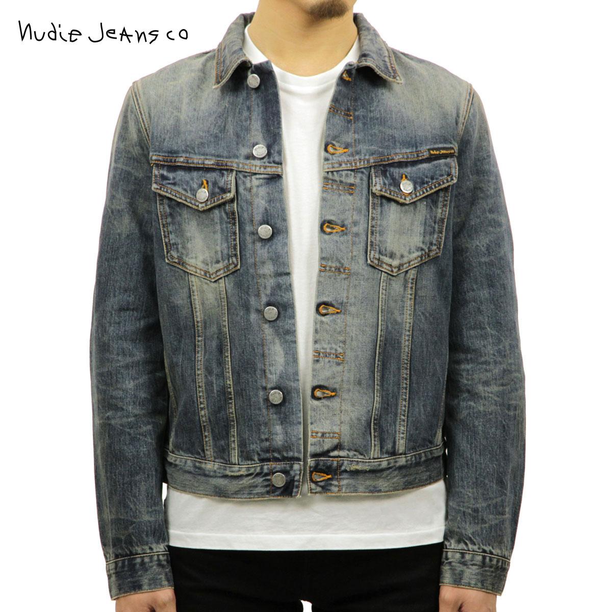 ヌーディージーンズ Nudie Jeans 正規販売店 メンズ アウター デニムジャケット BILLY DRY SELVEDGE DENIM JACKET DENIM B26 160551 5025
