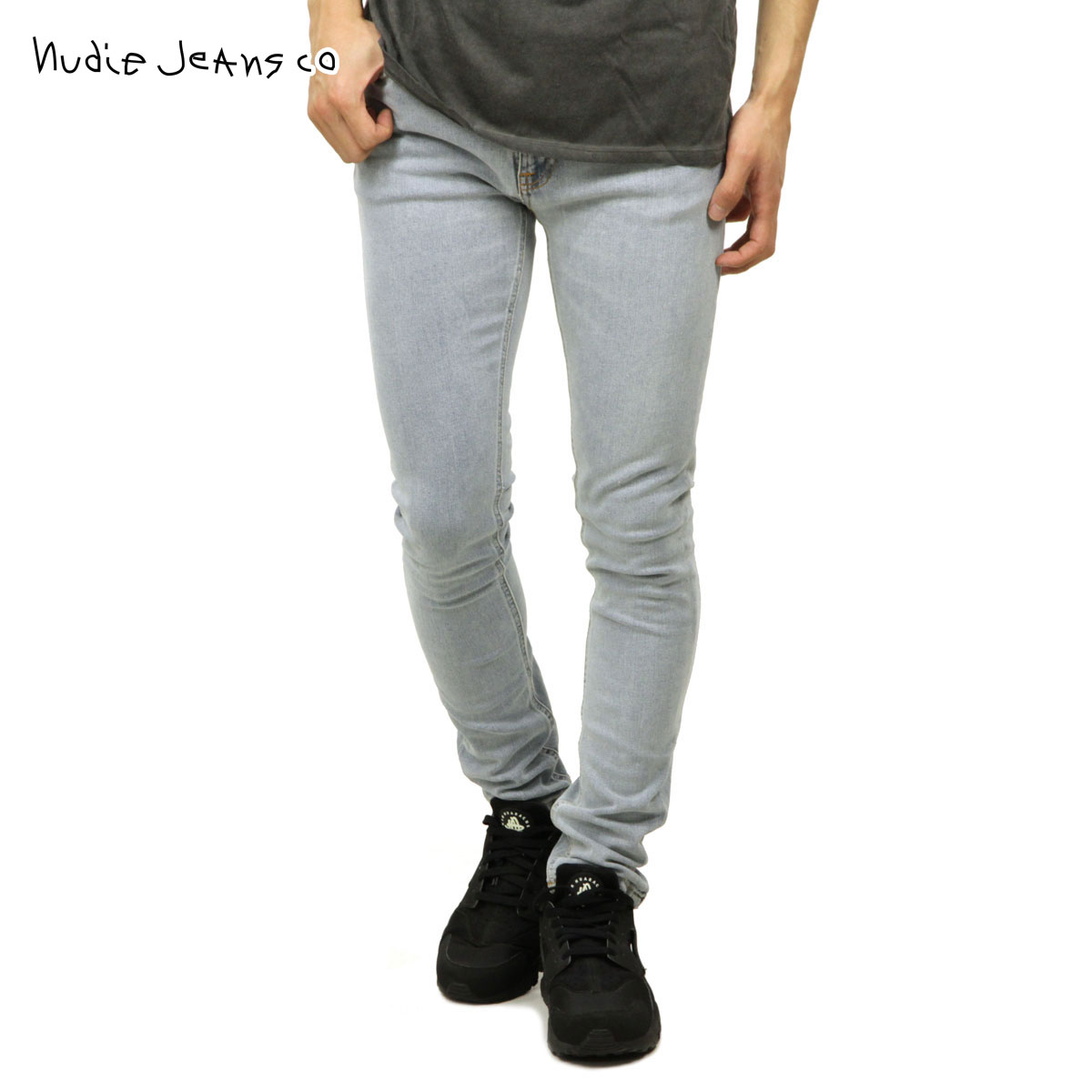 Nudie jeans Nudie Jeans regular store men jeans Kinney phosphorus SKINNY  LIN JEANS SUMMER BREEZE 884 1126680