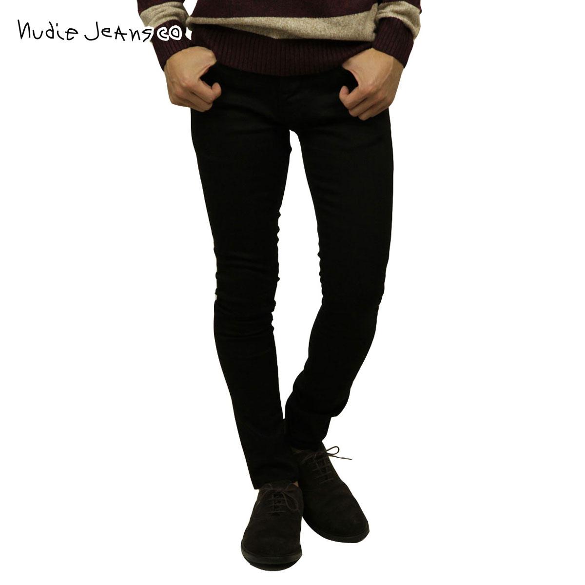 ヌーディージーンズ Nudie Jeans 正規販売店 メンズ ジーンズ タイトテリー TIGHT TERRY 787 1124510 787 DENIM JEANS DEEP BLACK