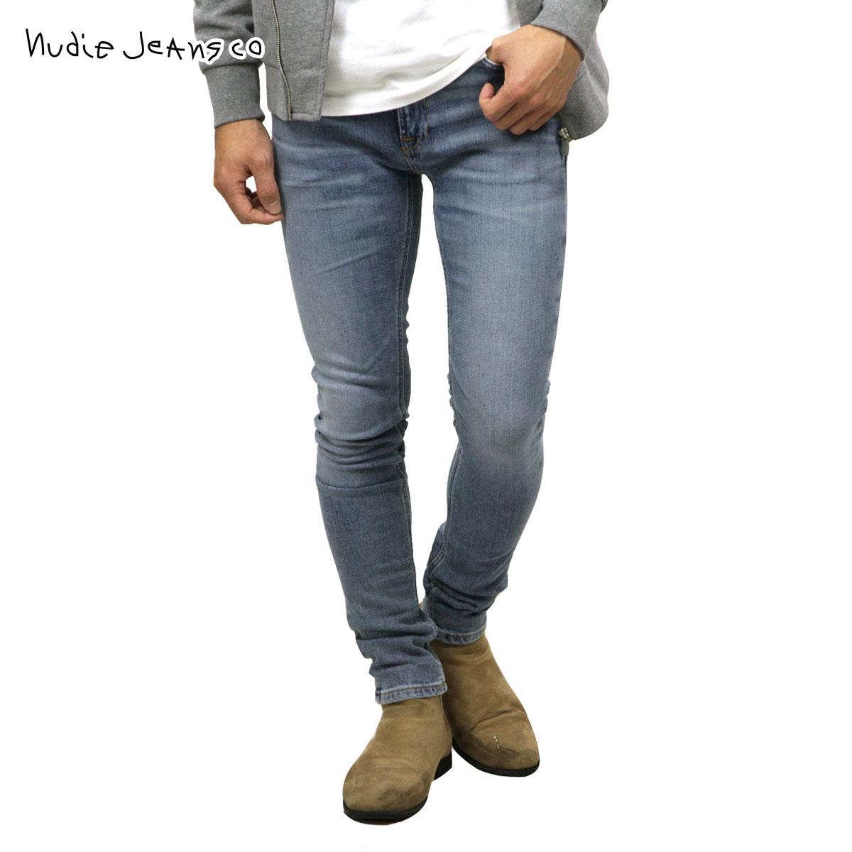 ヌーディージーンズ ジーンズ メンズ 正規販売店 Nudie Jeans ジーパン スキニーリン SKINNY LIN 942 1128290 942 DENIM JEANS OLD BLUES