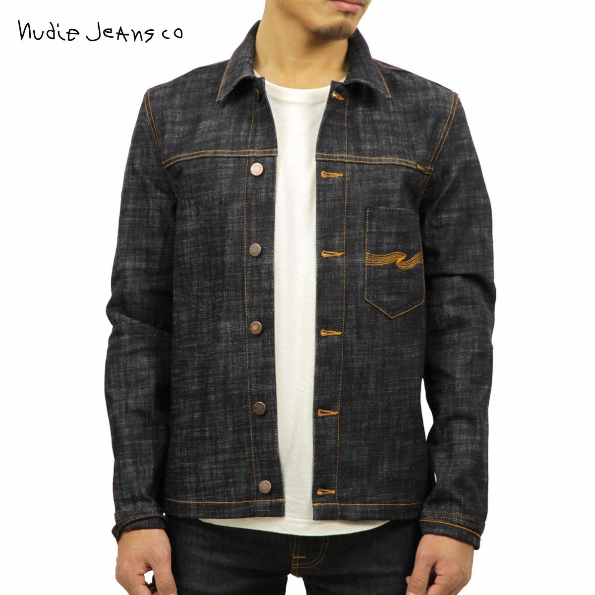 ヌーディージーンズ Nudie Jeans 正規販売店 メンズ アウター デニムジャケット RONNY DRY CROSS DENIM JACKET 160569 B26 DENIM