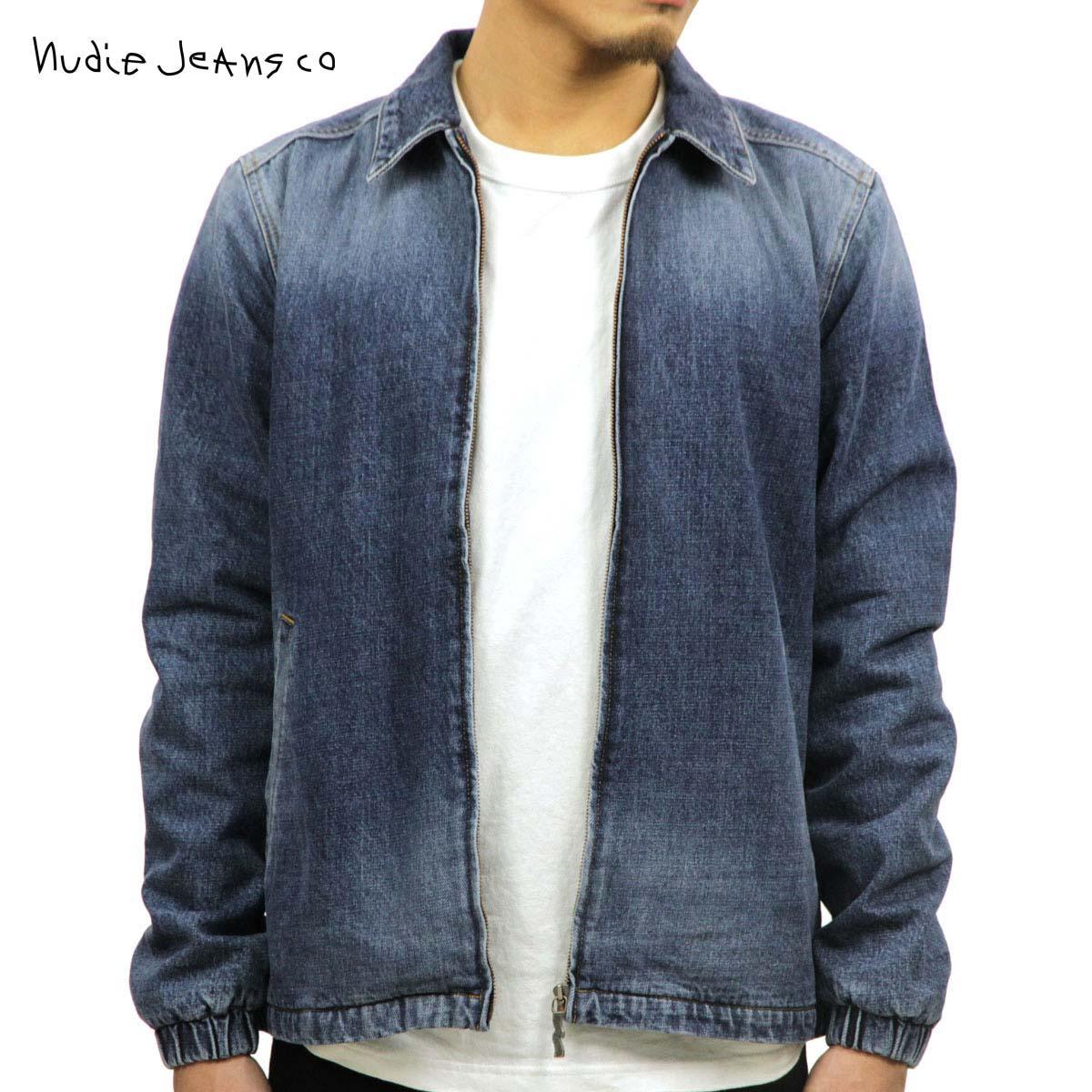 ヌーディージーンズ アウター メンズ 正規販売店 Nudie Jeans ジャケット デニムジャケット TORKEL VINTAGE BLUE DENIM JACKET 160570 B26 DENIM