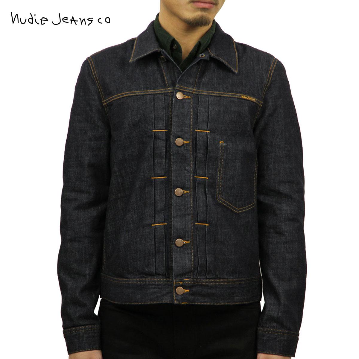 ヌーディージーンズ Nudie Jeans 正規販売店 メンズ アウター デニムジャケット SONNY DENIM JACKET RINSE BLUE 160590