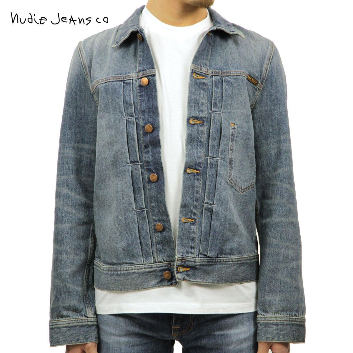 ヌーディージーンズ Nudie Jeans 正規販売店 メンズ アウター デニムジャケット SONNY DENIM JACKET MID STONE 160594