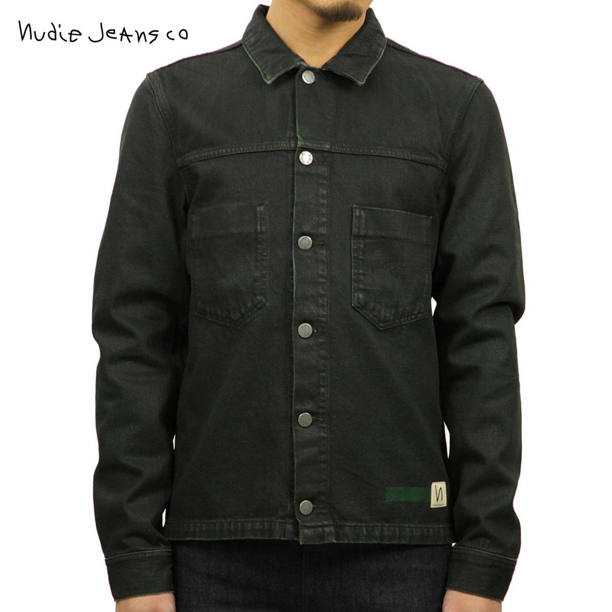 ヌーディージーンズ Nudie Jeans 正規販売店 メンズ アウター ジャケット RONNY ARMY COATED JACKET INDIGO 160595