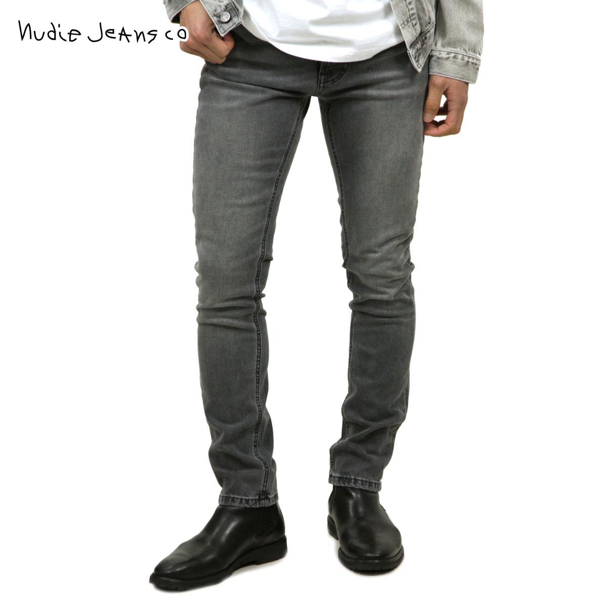 ヌーディージーンズ Nudie Jeans 正規販売店 メンズ ジーンズ リーンディーン LEAN DEAN JEANS MID GREY COMFORT 005 1129280 1101