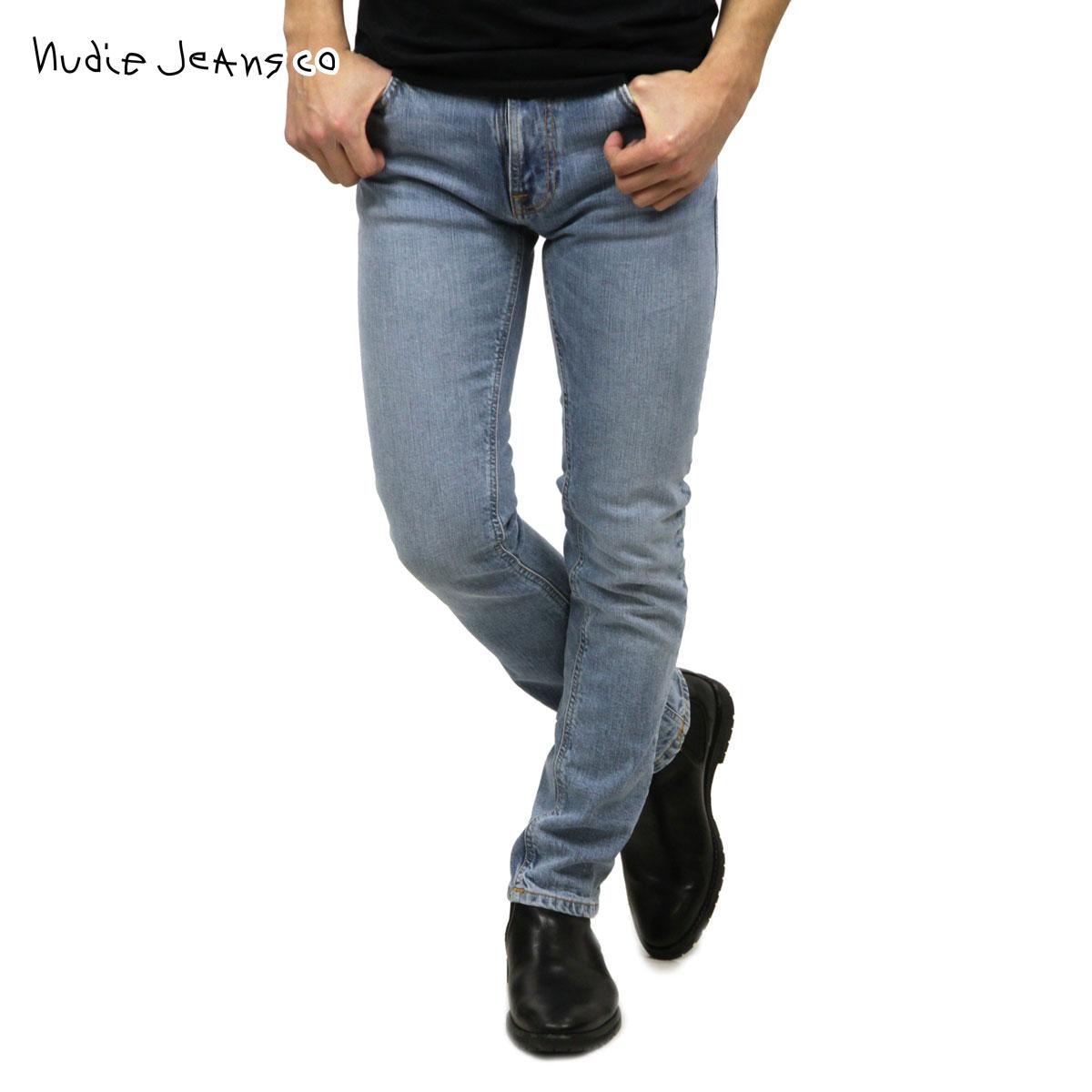 ヌーディージーンズ Nudie Jeans 正規販売店 メンズ ジーンズ シンフィン THIN FINN JEANS LIGHT BLUE COMFORT 996 1129850 1140