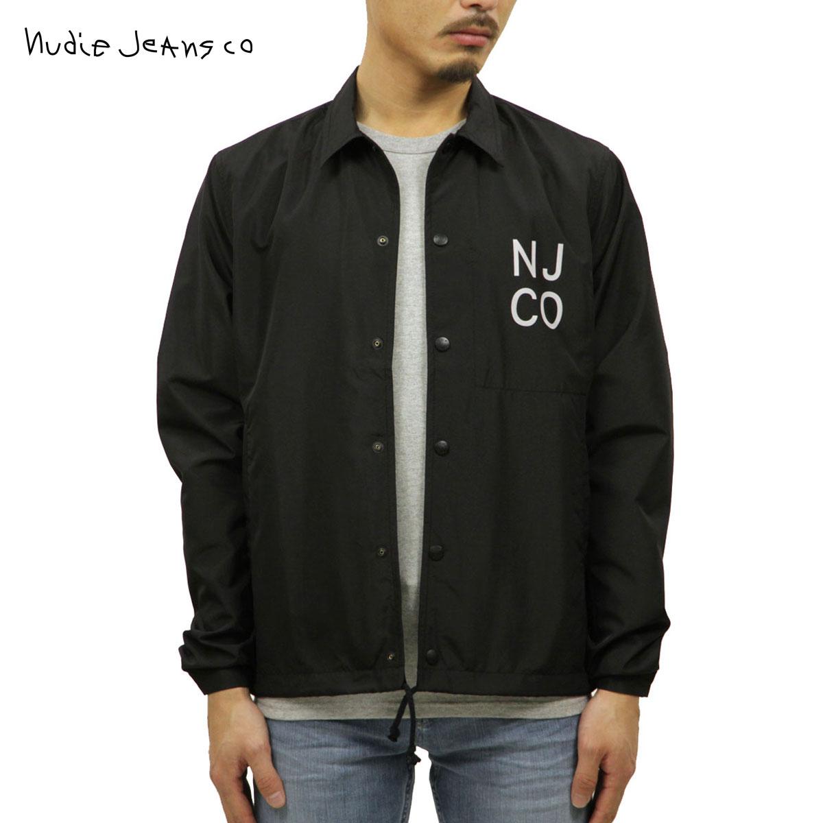 予約商品 6月頃入荷予定 ヌーディージーンズ Nudie Jeans 正規販売店 メンズ アウター コーチジャケット JOSEPH COACH JACKET BLACK B01 160654 5025