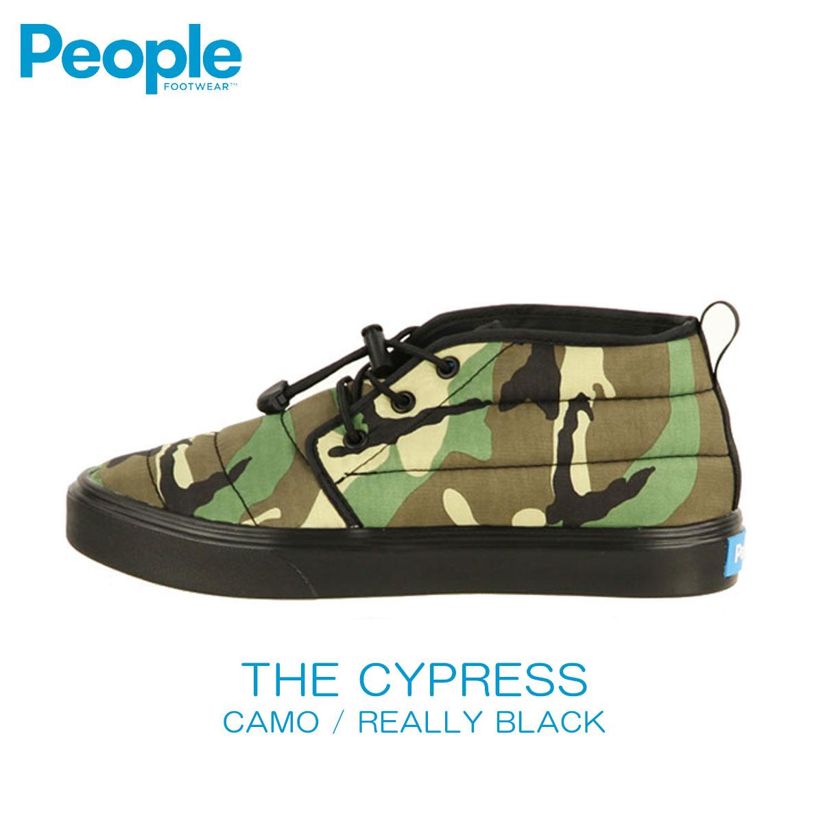 【販売期間 5/4 10:00~5/7 09:59】 ピープルフットウェア People Footwear 正規品 メンズ 靴 シューズ THE CYPRESS NC08-012 CAMO / REALLY BLACK D00S20