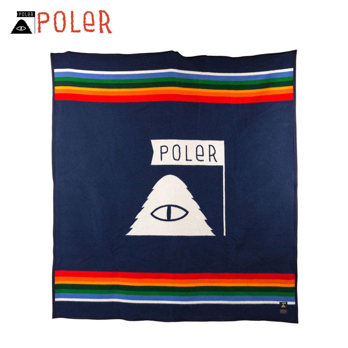 ポーラー POLER 正規販売店 毛布 ブランケット PENDLETON × POLER PENDLETON BLANKET CRATER LAKE ZF613-53316-MLT MULTI D00S20