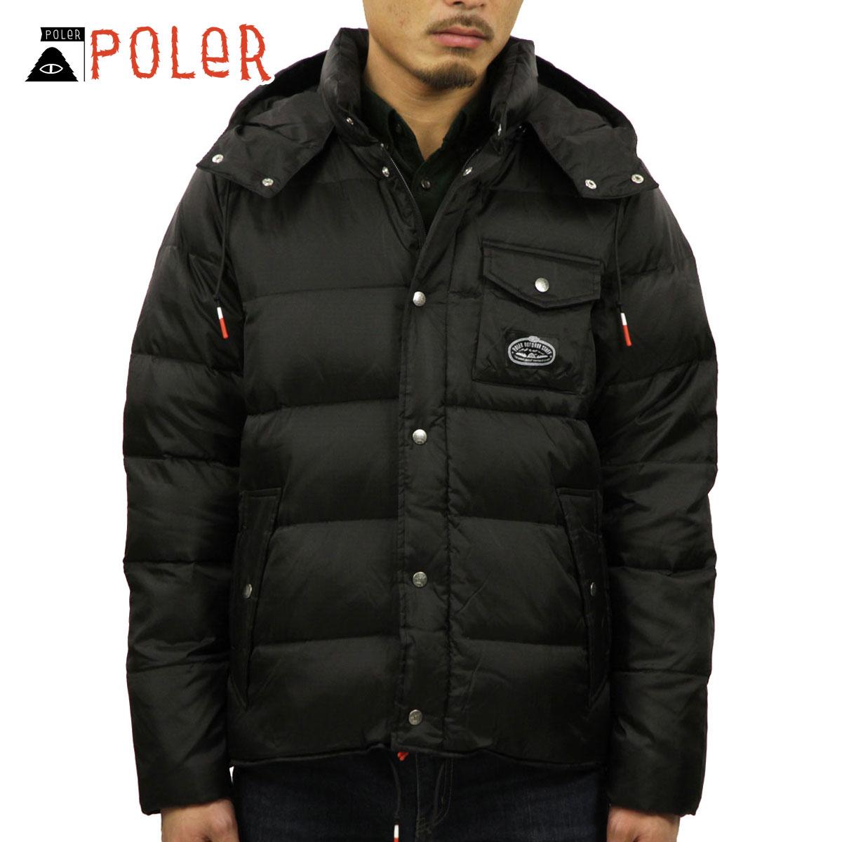 ポーラー POLER 正規販売店 メンズ パファージャケット アウター SAGE PUFFY JACKET 21600014-BLK BLACK