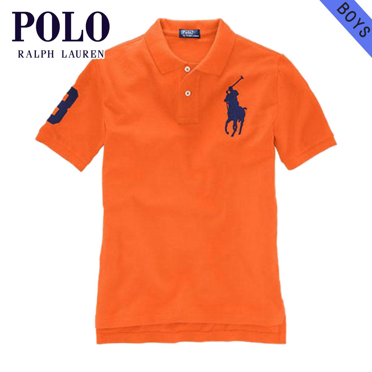 Poloralflorenkids POLO RALPH LAUREN CHILDREN genuine kids clothing boys Polo  Shirt Big Pony Polo Shirt #