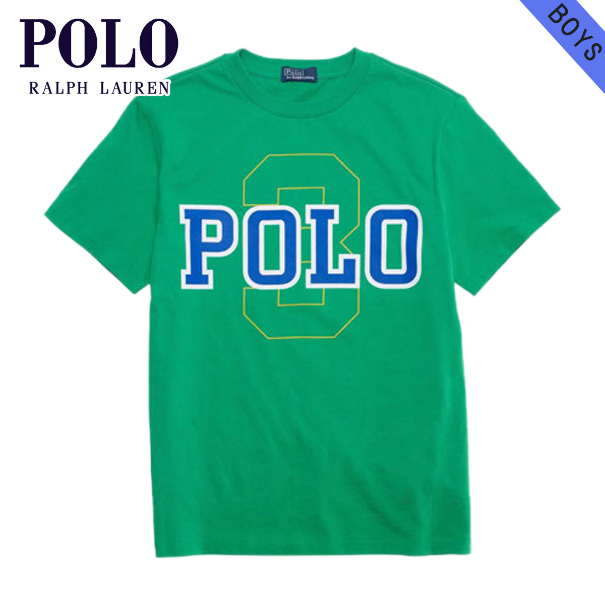 Tシャツ 子供服 POLO RALPH LAUREN CHILDREN 半袖Tシャツ ラルフローレン ポロ 正規品 #33021536 D20S30 Polo Cotton Tee キッズ