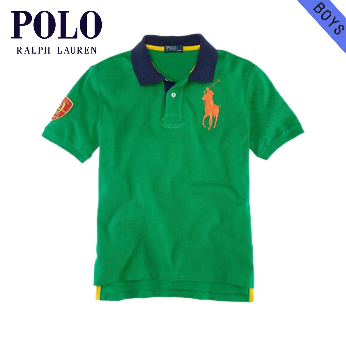 cd4996ab2 Rakuten Ichiba shop MIXON: Polo Ralph Lauren kids POLO RALPH LAUREN CHILDREN  regular article children's clothes Boys polo shirt Big Pony Contrast-Collar  ...