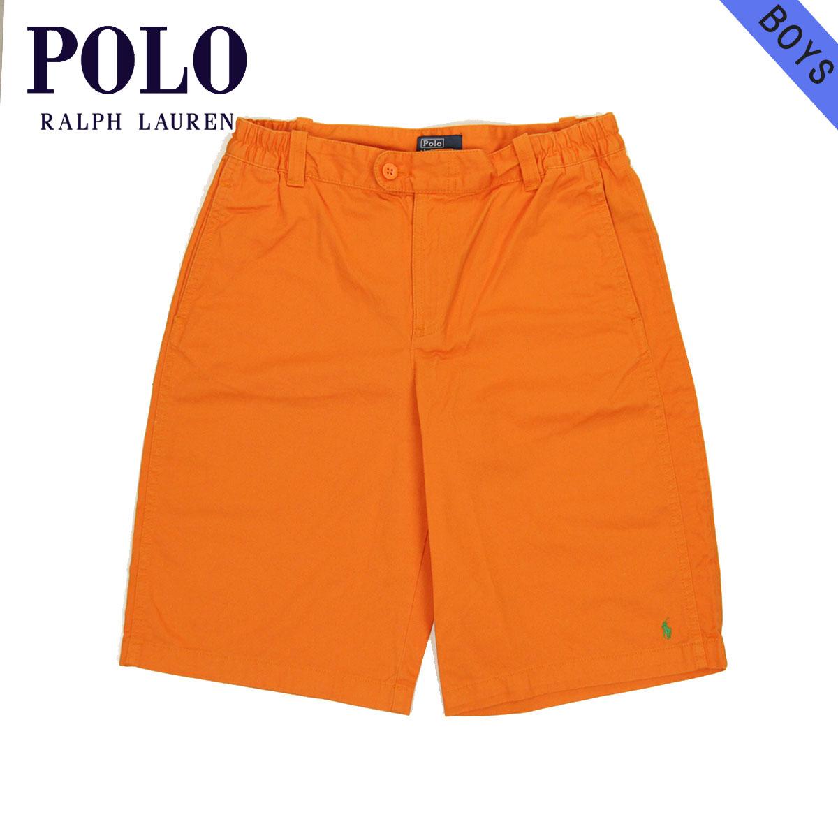 e2438c784a9 Poloralflorenkids POLO RALPH LAUREN CHILDREN genuine kids clothing boys  shorts Vintage Cotton Varsity Short  19150726 belt no ORANGE 10P10Jan15