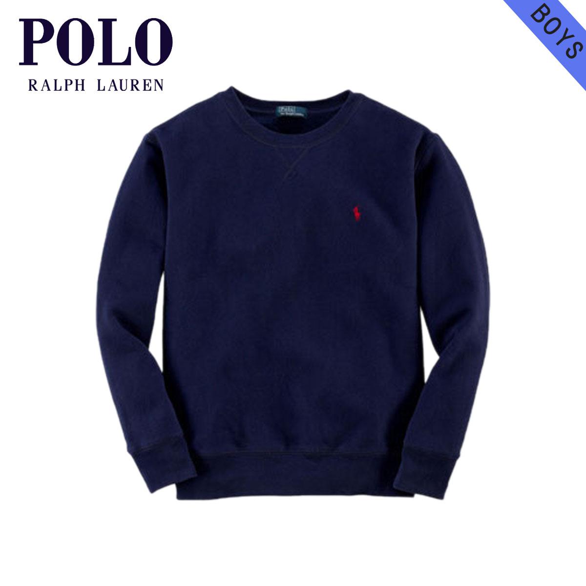 8f0dc8774 Poloralflorenkids POLO RALPH LAUREN CHILDREN genuine kids clothing boys  sweatshirts Long Sleeve Fleece Crewneck  21589196 NAVY 10P22Jul14