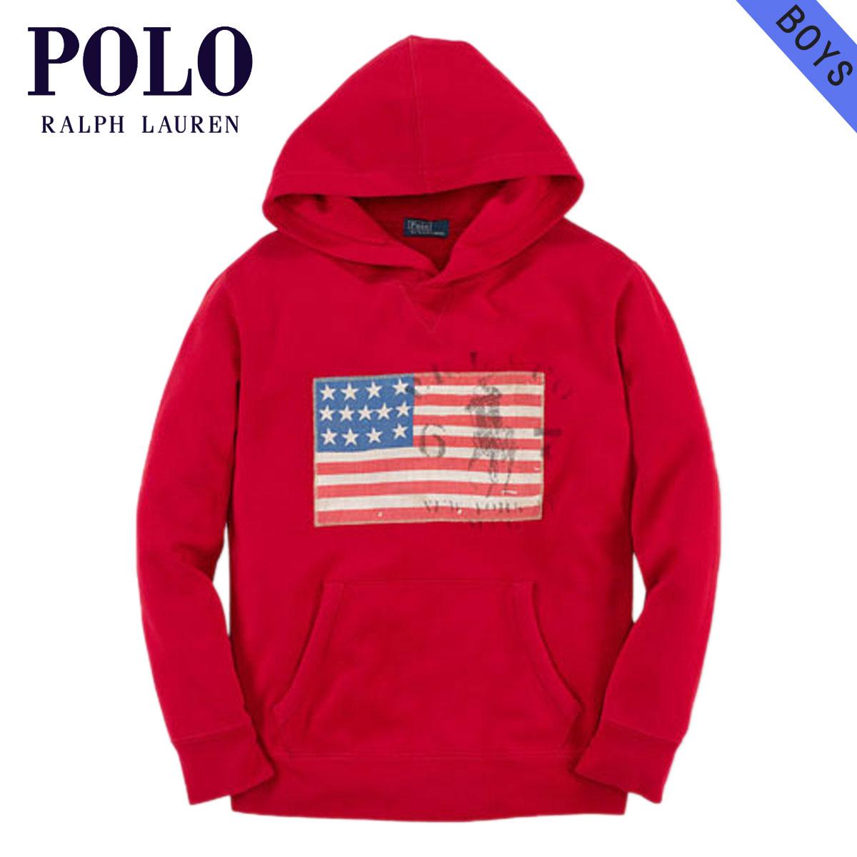 8784fc1b9 Rakuten Ichiba shop MIXON  Polo Ralph Lauren kids POLO RALPH LAUREN  CHILDREN regular article children s clothes Boys parka Flag Pullover Hoodie   22357906 ...