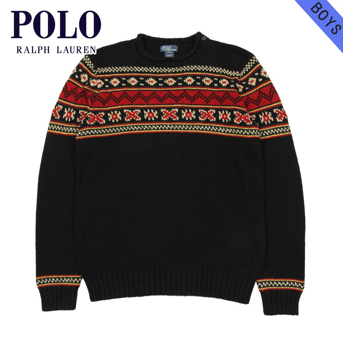 d56157781 Rakuten Ichiba shop MIXON  30%OFF sale polo Ralph Lauren kids POLO RALPH  LAUREN CHILDREN regular article children s clothes Boys sweater CREW NECK  SWEATER ...