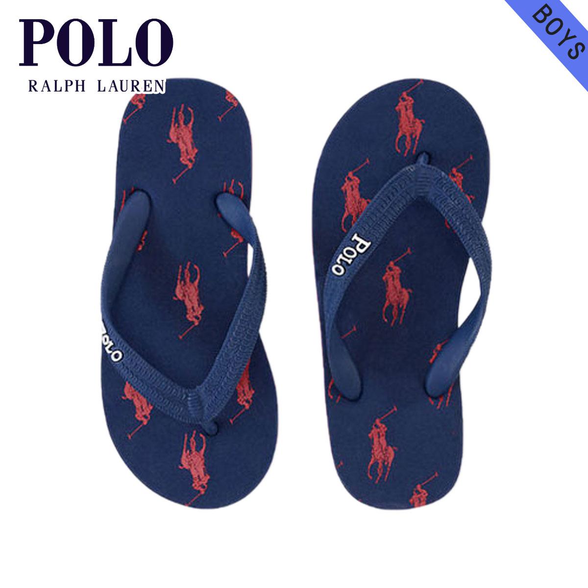 997679e7881 Polo Ralph Lauren kids sandals Boys children's clothes regular article POLO  RALPH LAUREN CHILDREN Amino Flip-Flop #16512186 D25S35