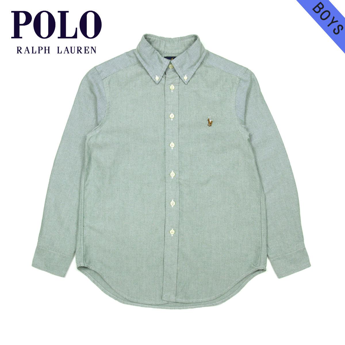 d825c2fac172 Polo Ralph Lauren kids POLO RALPH LAUREN CHILDREN regular article children s  clothes Boys long sleeves shirt SOLID COTTON BLAKE SHIRT 37716736 D00S20