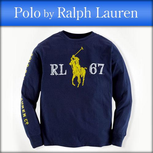 Rakuten Ichiba shop MIXON | Rakuten Global Market: Poloralflorenkids POLO  RALPH LAUREN CHILDREN genuine kids clothes boys long sleeve T shirt COTTON  GRAPHIC ...