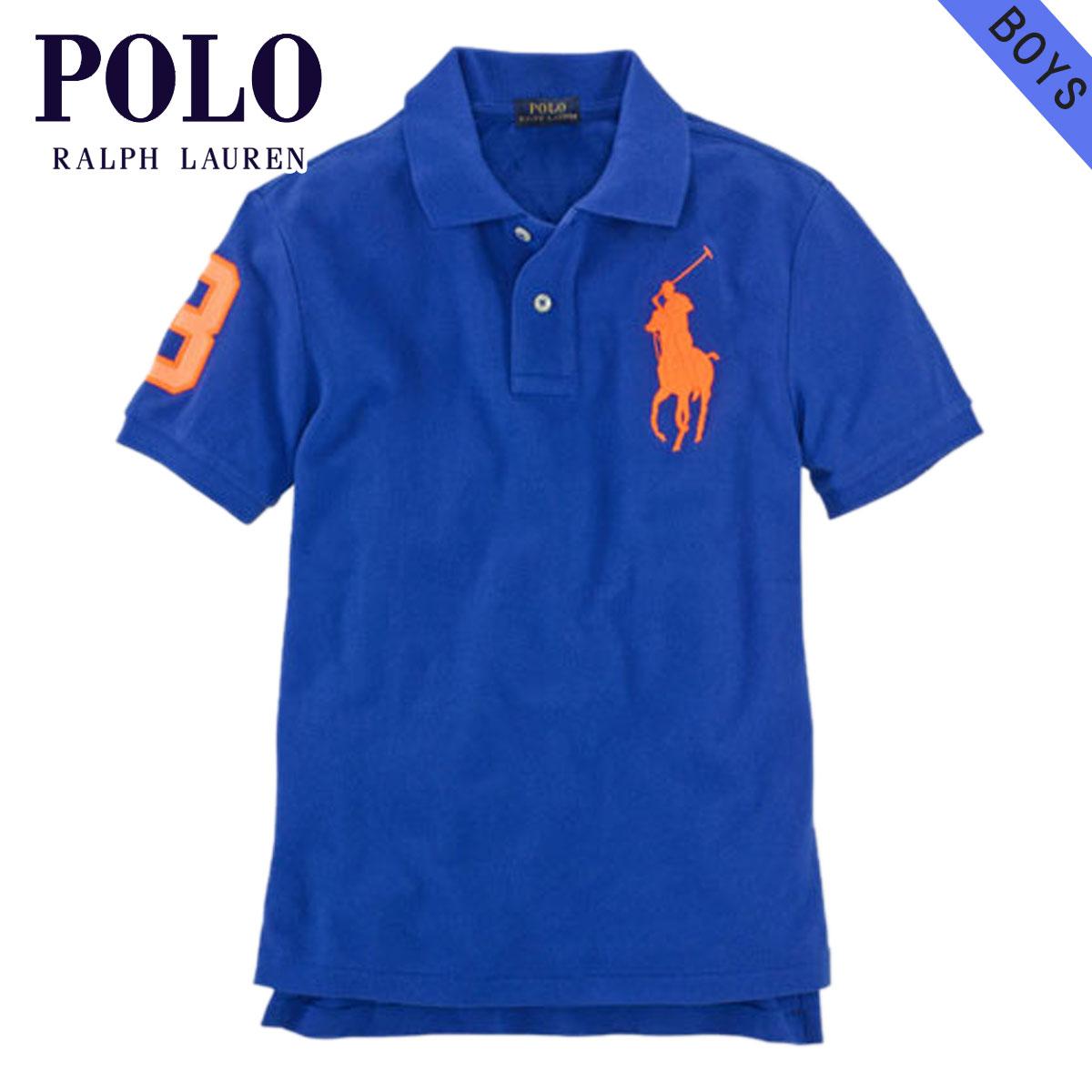 e38dc10a54cd Polo Ralph Lauren kids POLO RALPH LAUREN CHILDREN regular article children s  clothes boys polo shirt Custom-Fit Big Pony Polo Shirt 52138556 D20S30