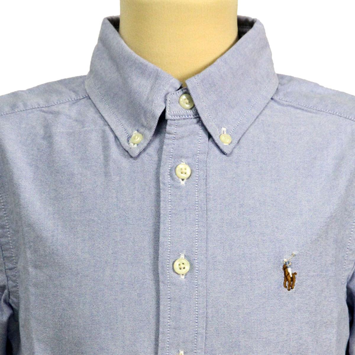 Poloralflorenkids POLO RALPH LAUREN CHILDREN genuine kids clothing boys  short sleeve shirt COTTON OXFORD BLAKE SHIRT 56541166 268eb56b6
