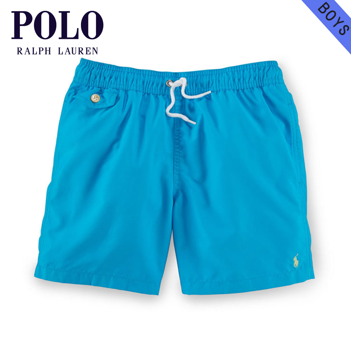 online retailer 47a06 142a2 Polo Ralph Lauren kids swimsuit Boys children's clothes regular article  POLO RALPH LAUREN CHILDREN swimming underwear TRAVELER SWIM TRUNK 71049136  ...