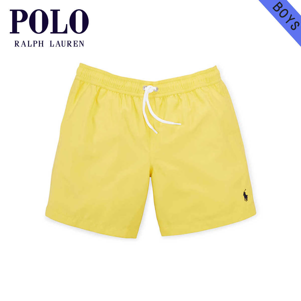 Poloralflorenkids POLO RALPH LAUREN CHILDREN genuine kids clothing boys swim  top swimsuit HAWAIIAN SWIM TRUNK 88638376