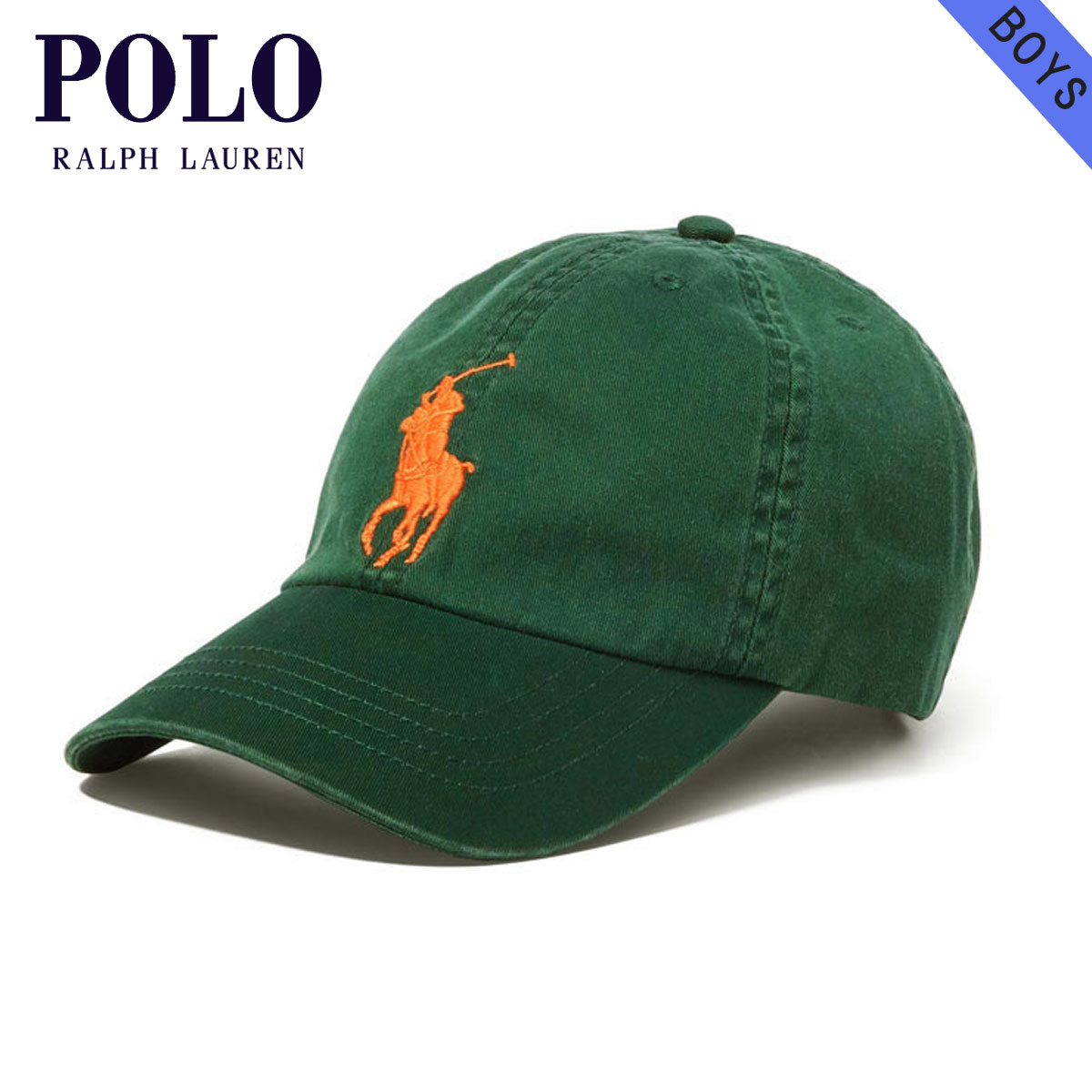 1873bd28 Polo Ralph Lauren kids POLO RALPH LAUREN CHILDREN regular article children's  clothes Boys hat cap BIG ...