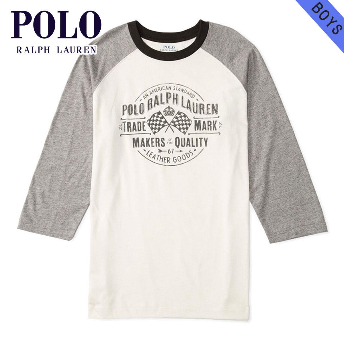 0aebbaf3c59c7 20%OFF sale polo Ralph Lauren kids POLO RALPH LAUREN CHILDREN regular  article children s clothes Boys long sleeves T-shirt COTTON GRAPHIC  BASEBALL TEE ...