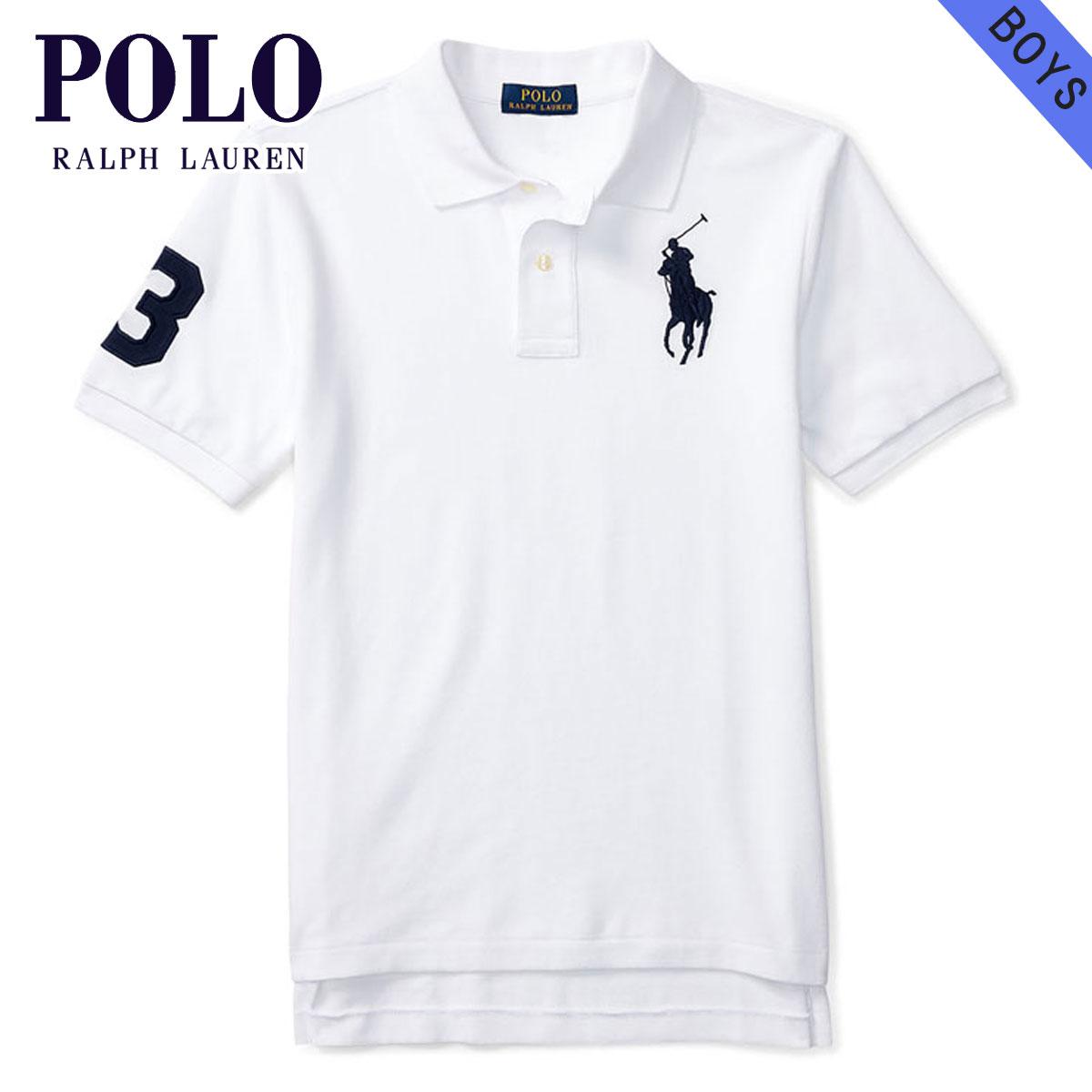 2d6bece7a77d Polo Ralph Lauren kids POLO RALPH LAUREN CHILDREN regular article children s  clothes Boys polo shirt CUSTOM FIT MESH POLO 112933796