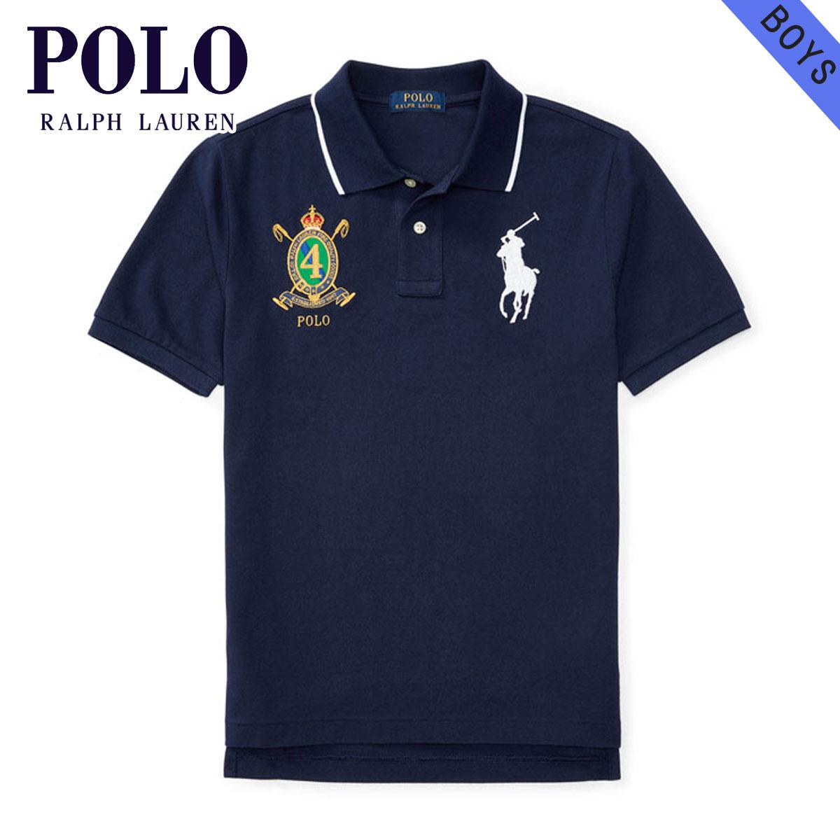 e4c7934affa4a Polo Ralph Lauren kids POLO RALPH LAUREN CHILDREN regular article children s  clothes Boys polo shirt COTTON MESH POLO SHIRT 112934956