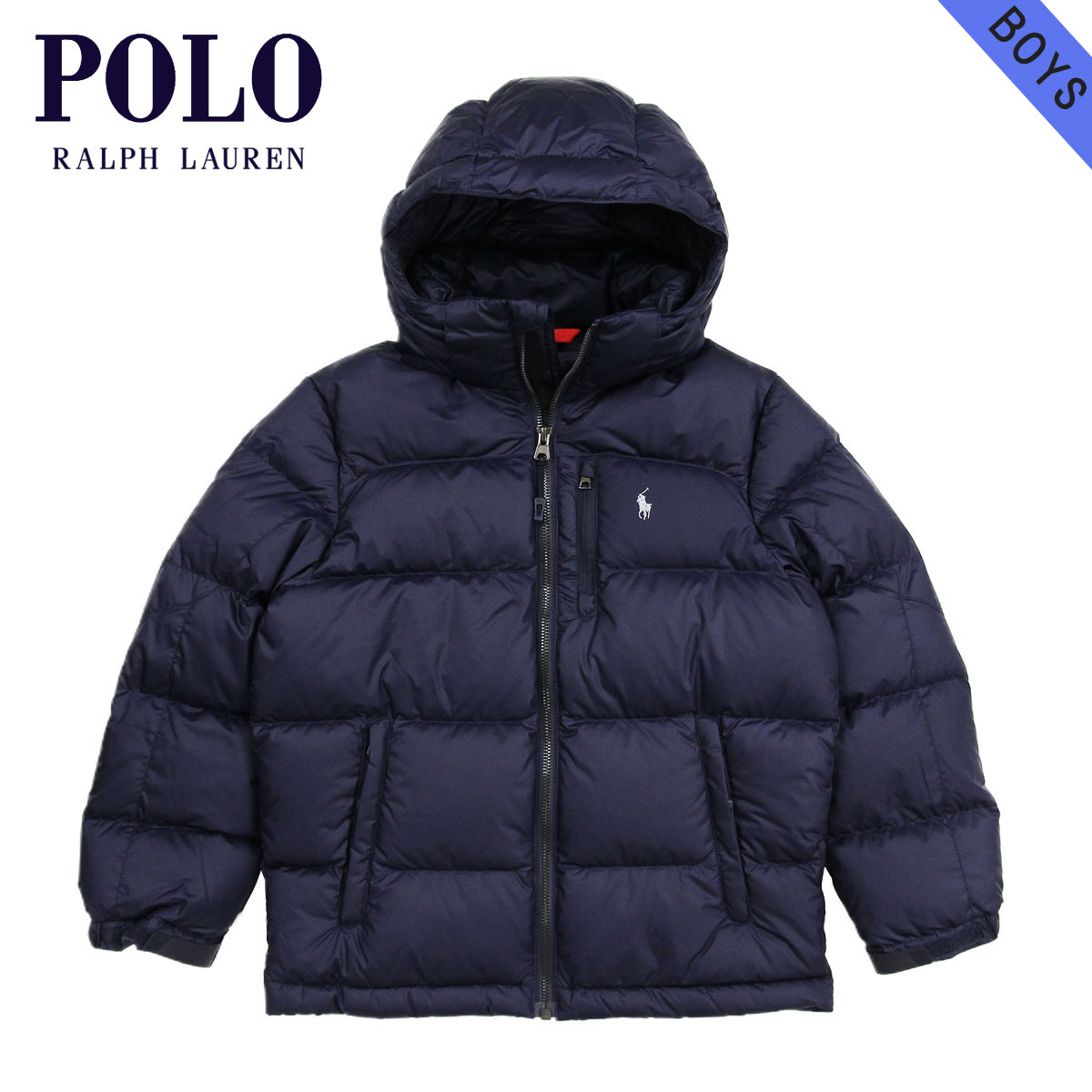 90dc20380f Polo Ralph Lauren kids POLO RALPH LAUREN CHILDREN regular article children s  clothes Boys down jacket Ripstop Down Jacket