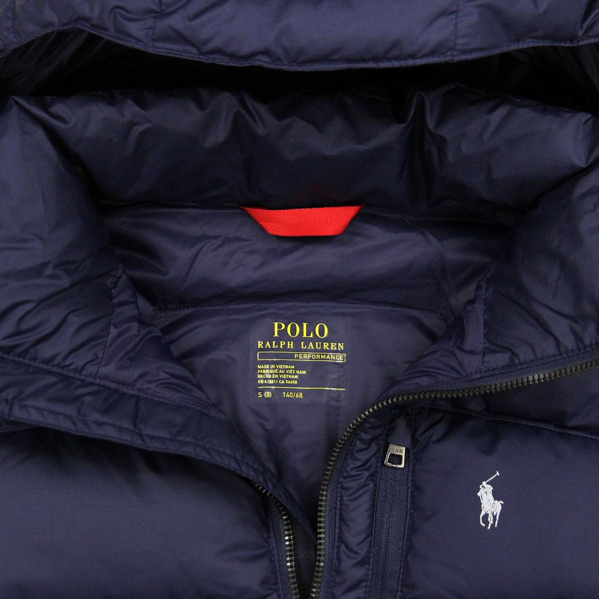 Children's Ripstop Down Clothes Boys Children Article Jacket Lauren Regular Polo Ralph Kids 2IDWEH9
