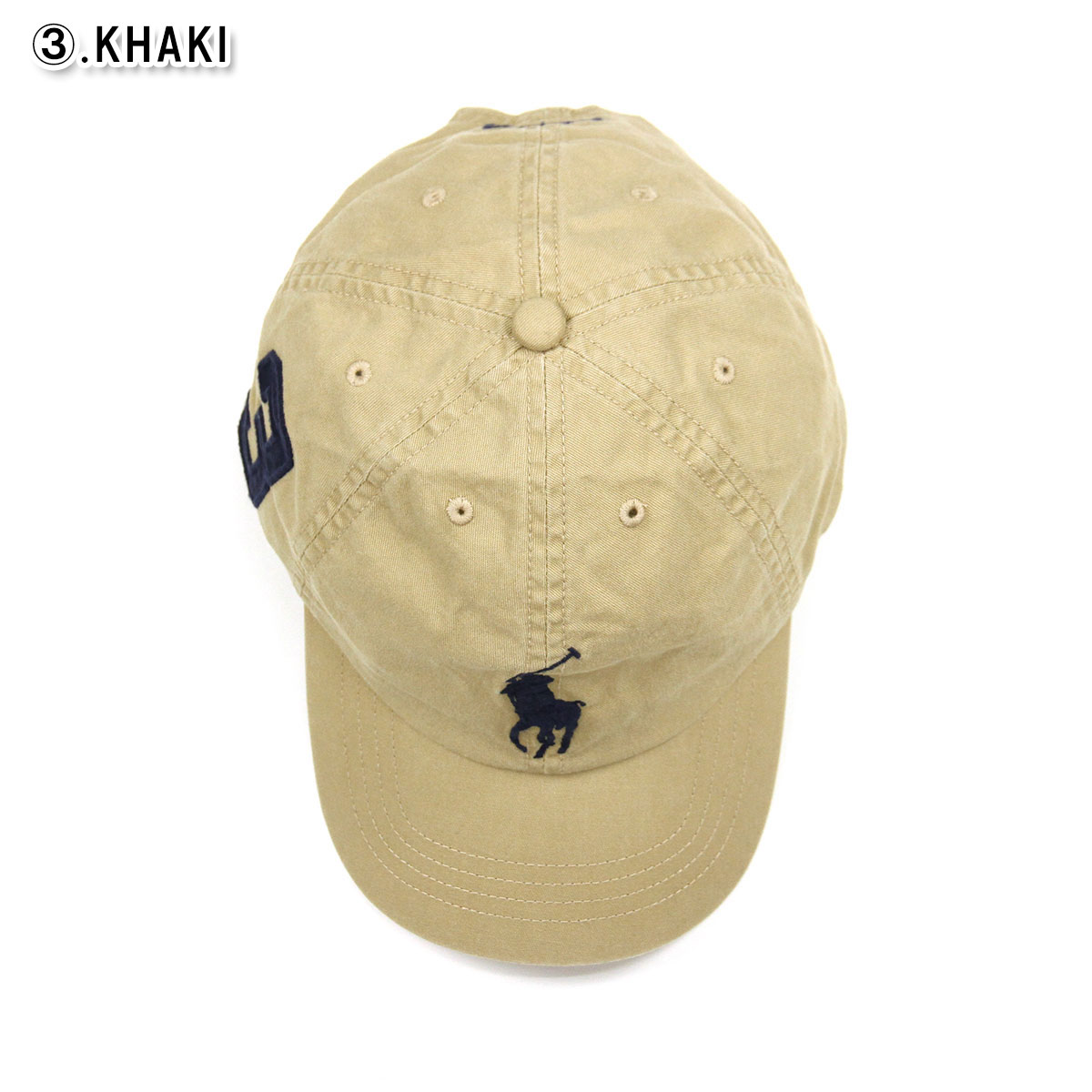 0b3dd1d7 Polo Ralph Lauren kids POLO RALPH LAUREN CHILDREN regular article Boys hat  big pony numbering cap Big Pony Chino Baseball Cap