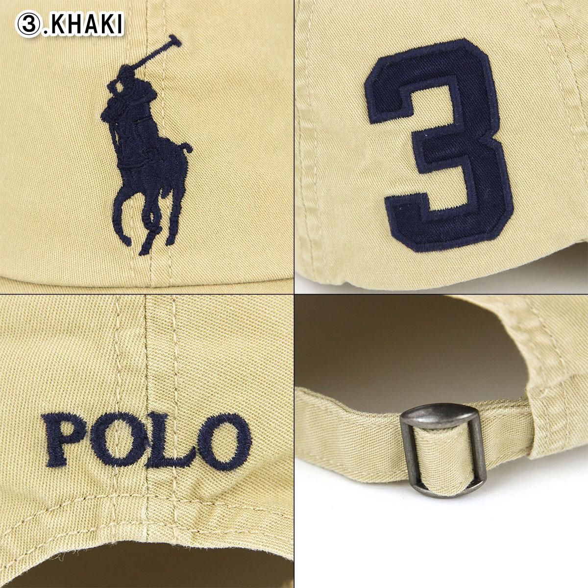 5d5b22e1 Polo Ralph Lauren kids POLO RALPH LAUREN CHILDREN regular article Boys hat  big pony numbering cap Big Pony Chino Baseball Cap