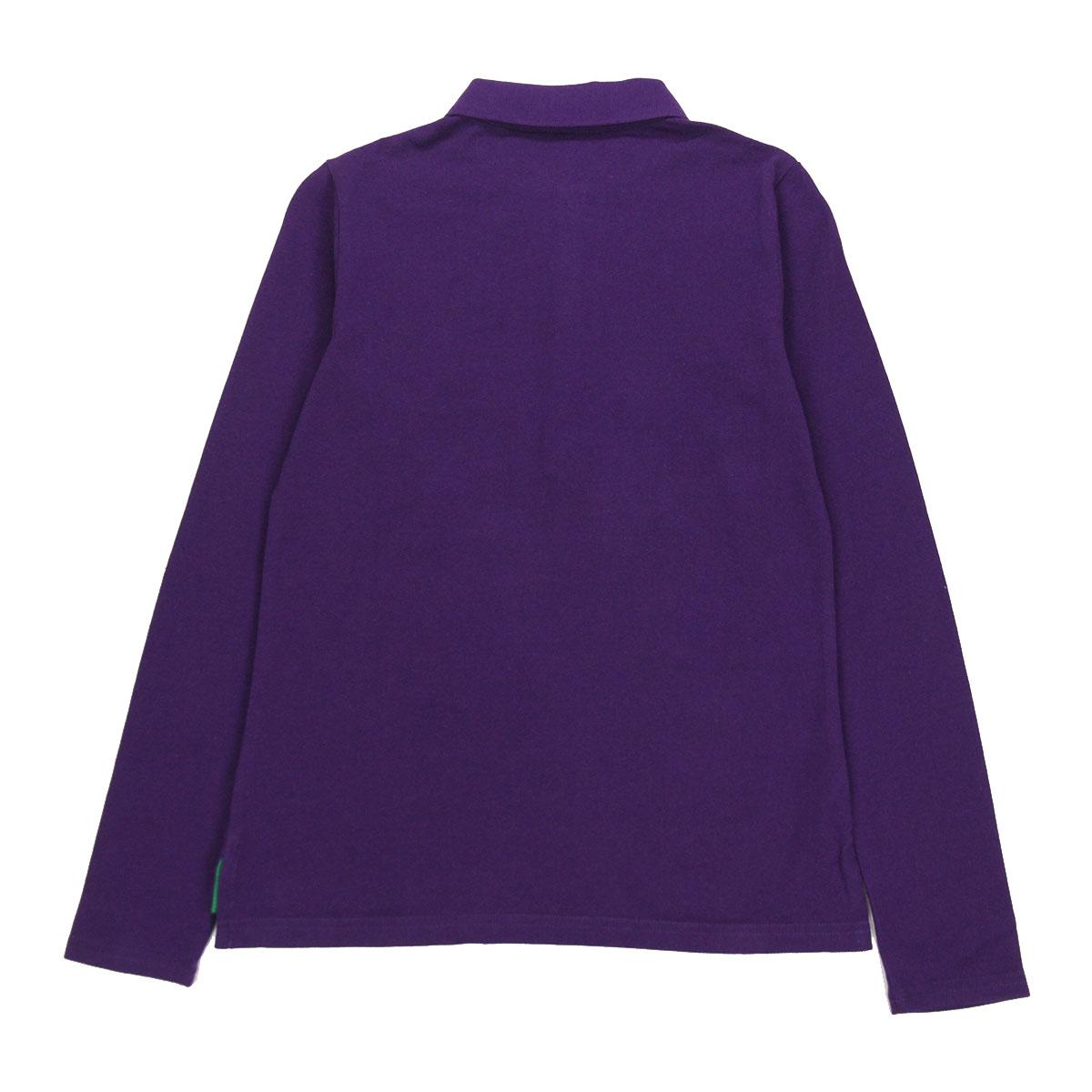 9d8cf0dcd Poloralflorenkids POLO RALPH LAUREN CHILDREN genuine kids clothing girls  Polo-Shirt Long-Sleeved Cotton Polo #24743826 PURPLE 40p22jul44