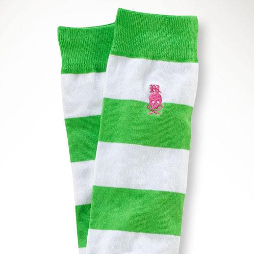 High31910356 Children's Children Skullamp; Girls Knee Socks Clothes Polo Stripe Article Ralph Kids Regular Lauren wPk80On