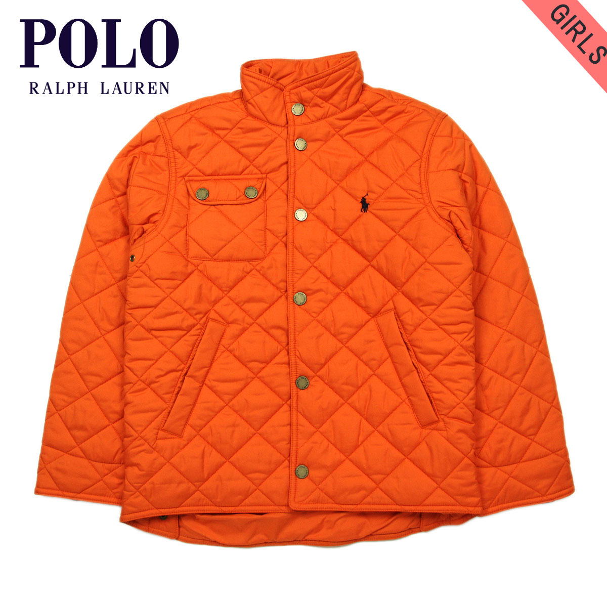 4d8bd02ebbdcd Poloralflorenkids POLO RALPH LAUREN CHILDREN genuine kids clothing girls  Quilted Jacket Quilted Jacket