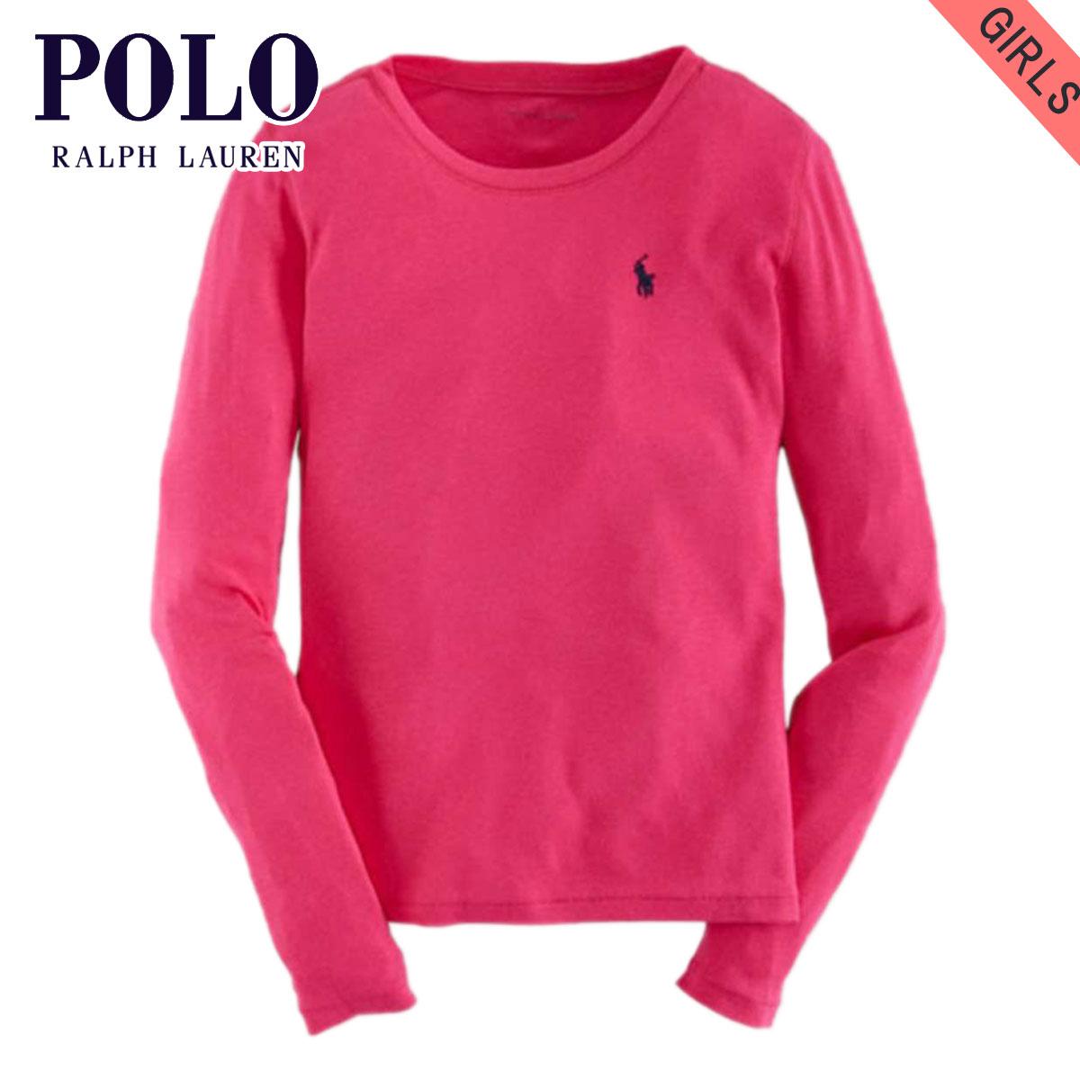 e8f17e59e Poloralflorenkids POLO RALPH LAUREN CHILDREN genuine kids clothes girls  long sleeve T shirt COTTON LONG-SLEEVED TEE 40925556