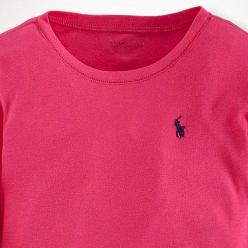 589ce1dc0 Poloralflorenkids POLO RALPH LAUREN CHILDREN genuine kids clothes girls  long sleeve T shirt COTTON LONG-SLEEVED TEE 40925556