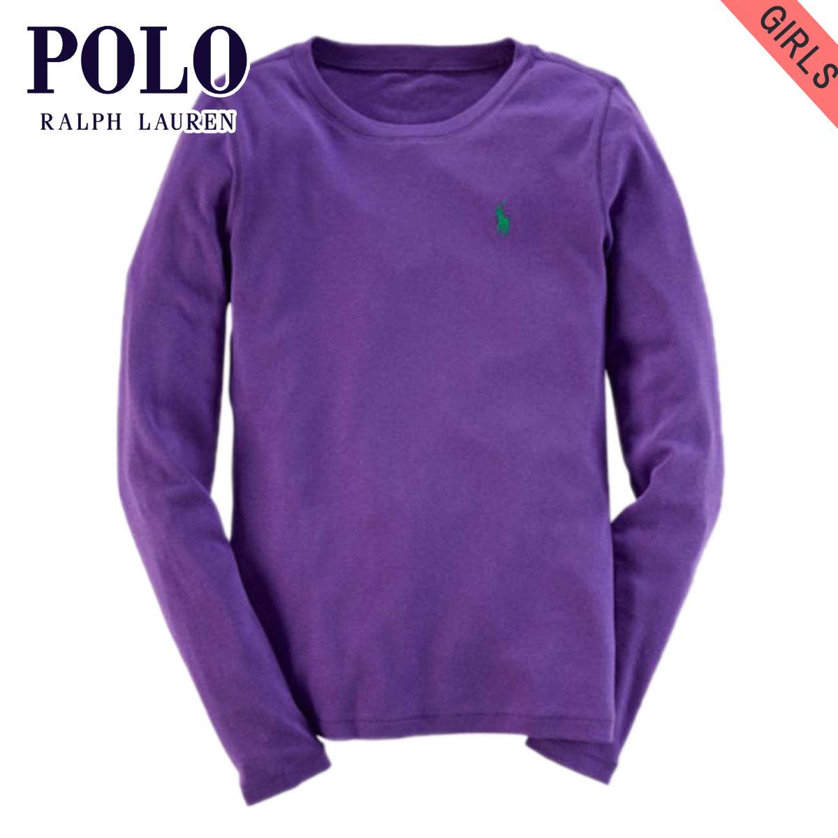687a6af51734 Poloralflorenkids POLO RALPH LAUREN CHILDREN genuine kids clothes girls  long sleeve T shirt COTTON LONG-SLEEVED TEE 40925556