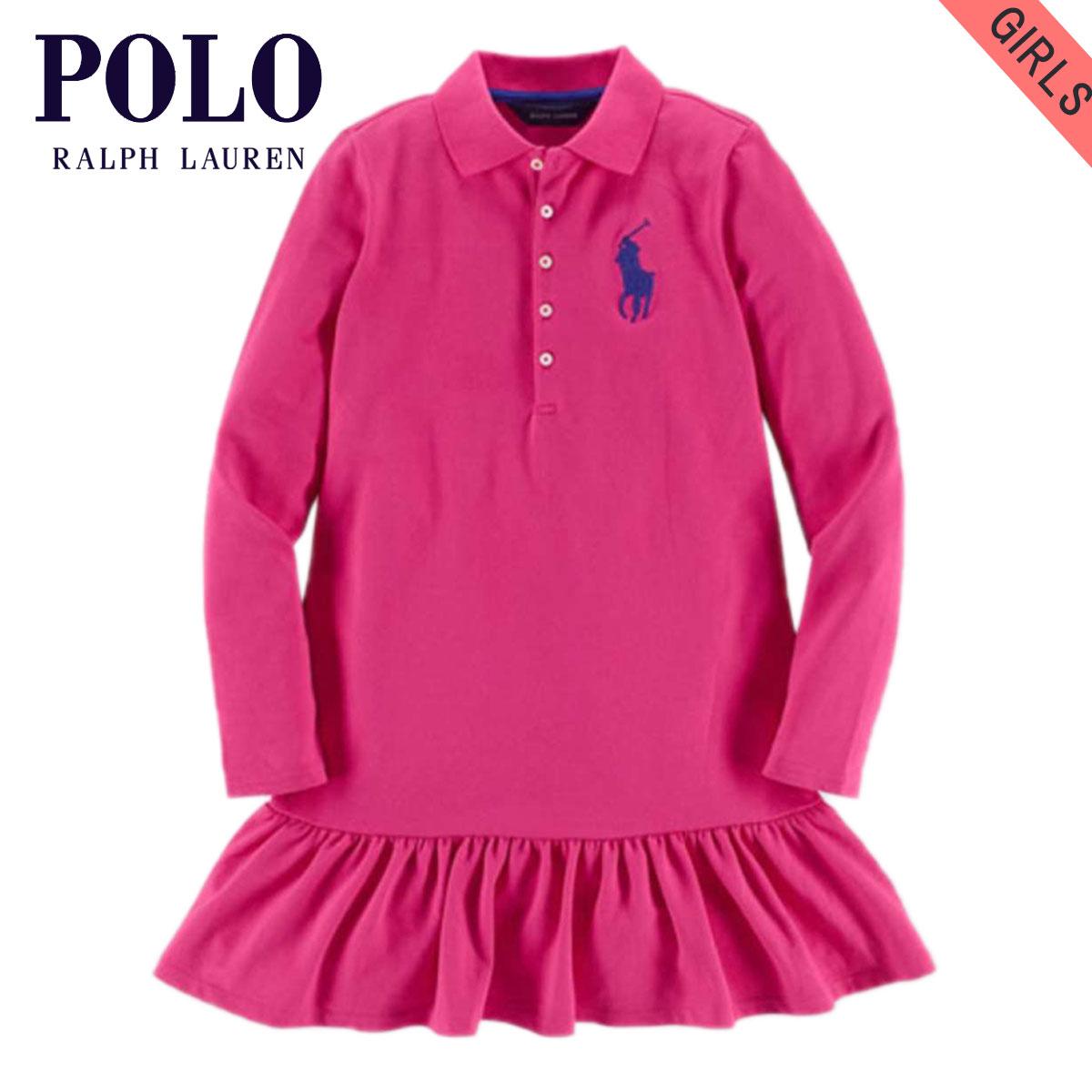 1f790a55 Poloralflorenkids POLO RALPH LAUREN CHILDREN genuine kids clothing girls polo  shirt BIG PONY COTTON DRESS 40925606