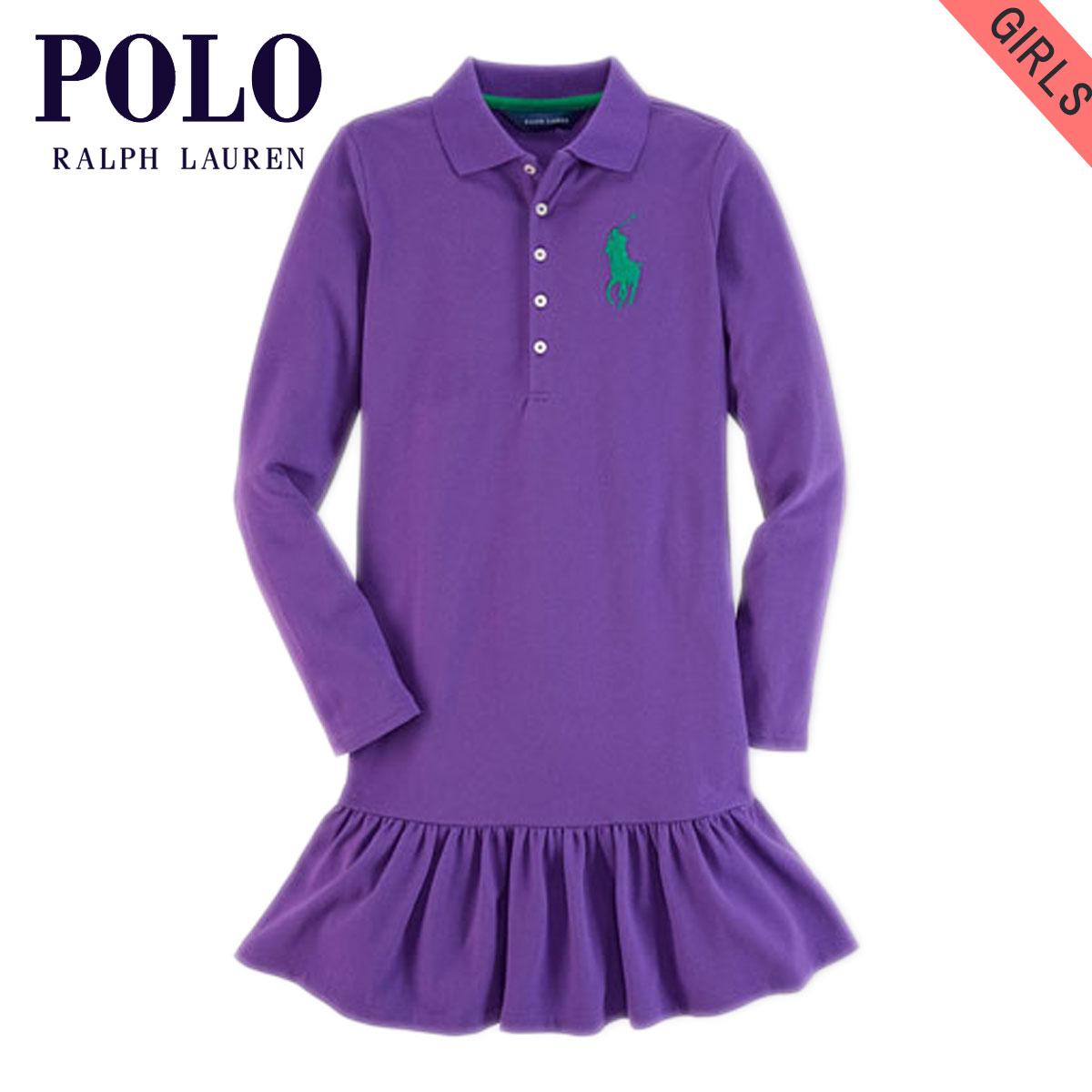 651ec6425 Poloralflorenkids POLO RALPH LAUREN CHILDREN genuine kids clothing girls  polo shirt BIG PONY COTTON DRESS 40925606