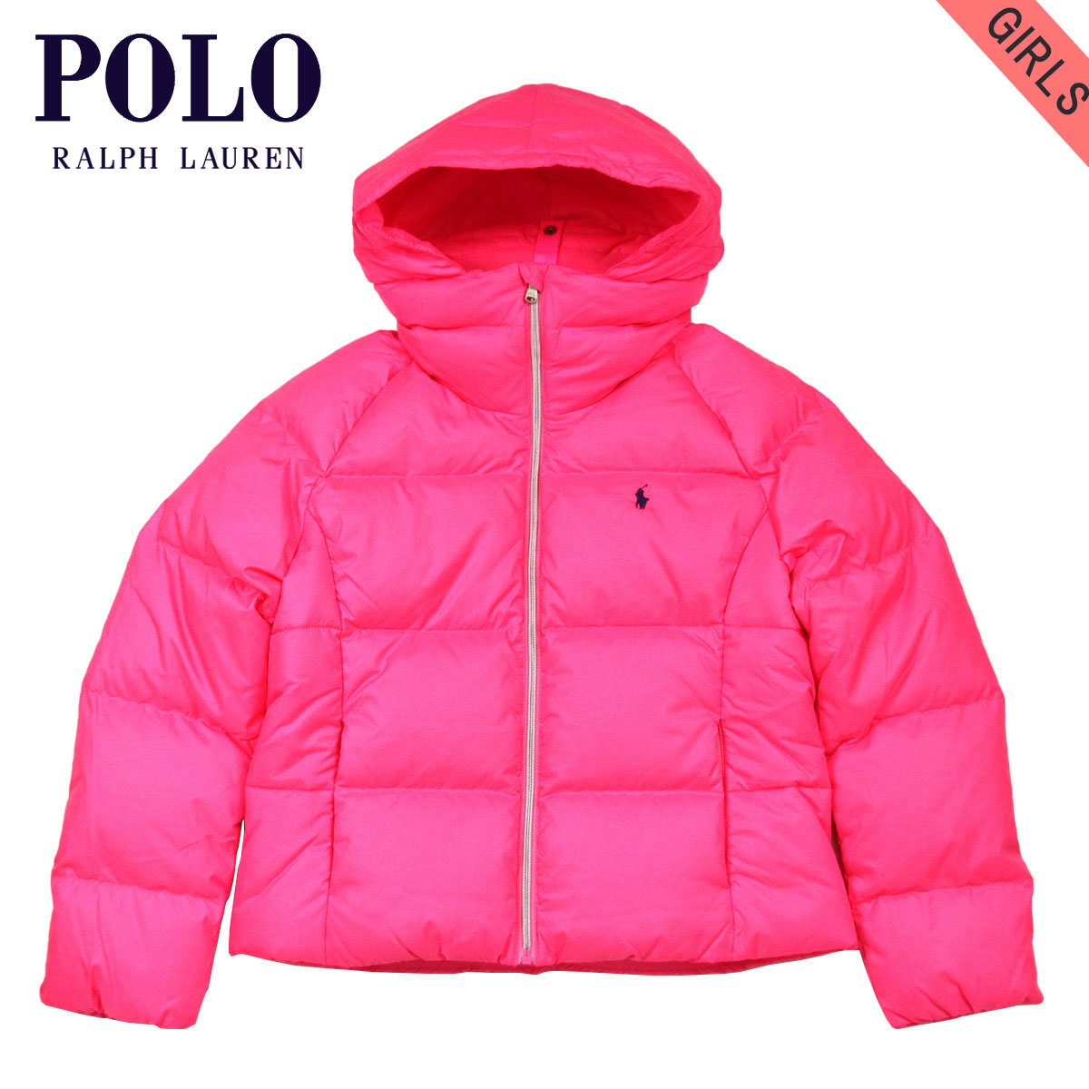 30%OFFセール 【販売期間 1/9 09:00~1/16 09:59】 ポロ ラルフローレン キッズ POLO RALPH LAUREN CHILDREN 正規品 子供服 ガールズ ダウンジャケット QUILTED DOWN JACKET 66152466 D20S30