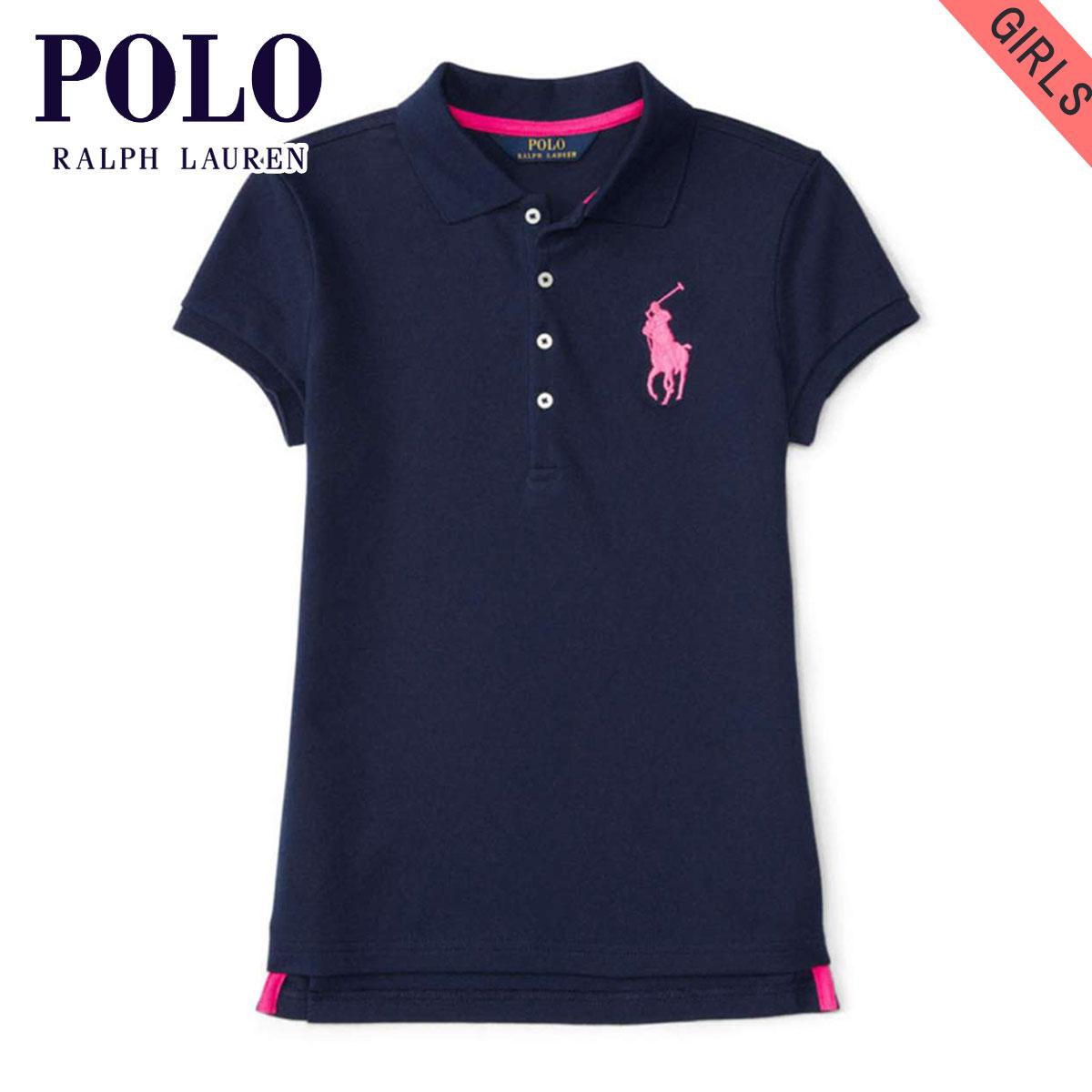 d9c29b40331d Poloralflorenkids POLO RALPH LAUREN CHILDREN genuine kids clothing girls  short sleeve polo shirt BIG PONY STRETCH COTTON POLO 99493546 20P05Nov16
